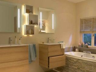 L'éclairage de salle de bains