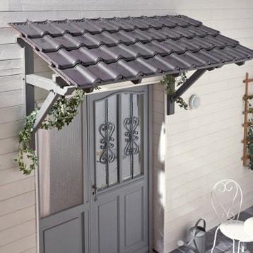 auvent de porte marquise de porte au meilleur prix leroy merlin. Black Bedroom Furniture Sets. Home Design Ideas