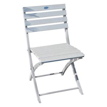 Chaise De Jardin En Aluminium Orlando Gris Galet