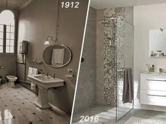 la salle de bains reflet millnaire de nos modes de vie - Salle De Bain Image