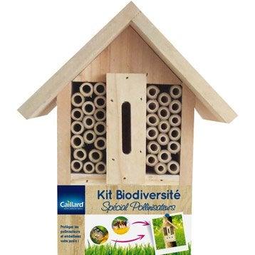 Kit biodiversité Special pollinisateurs bois