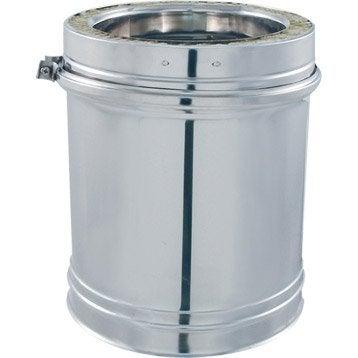 Tuyau pour conduit double paroi ISOTIP JONCOUXDiam.153 mm 0.35 m Ep.30 mm