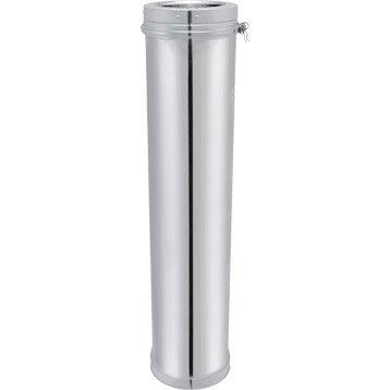 Tuyau pour conduit double paroi ISOTIP JONCOUXDiam.180 mm 0.95 m Ep.30 mm