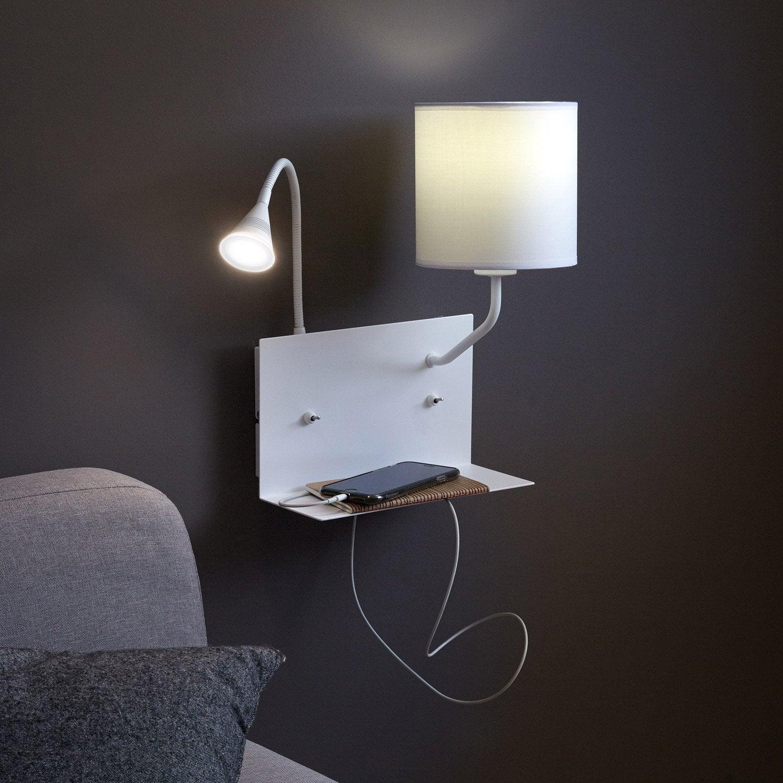 AppliqueDesign Blanc2 Métal Intégrée Inspire Led Duo CrxhtsQd