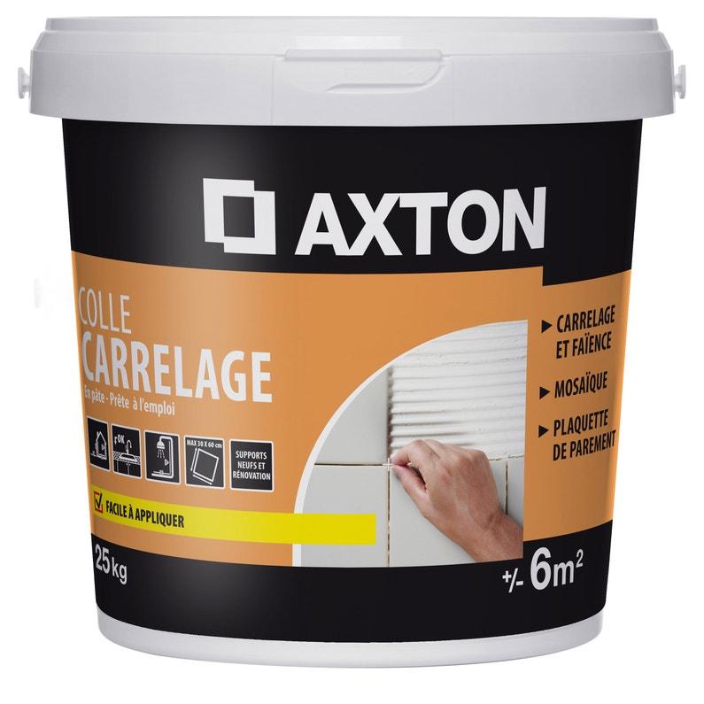 Colle Pâte Axton Blanc 25 Kg 6 M²
