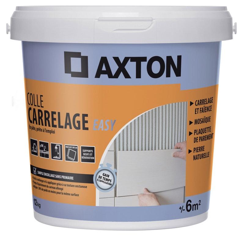 Colle Pâte Axton Easy Blanc 12 Kg 6 M²