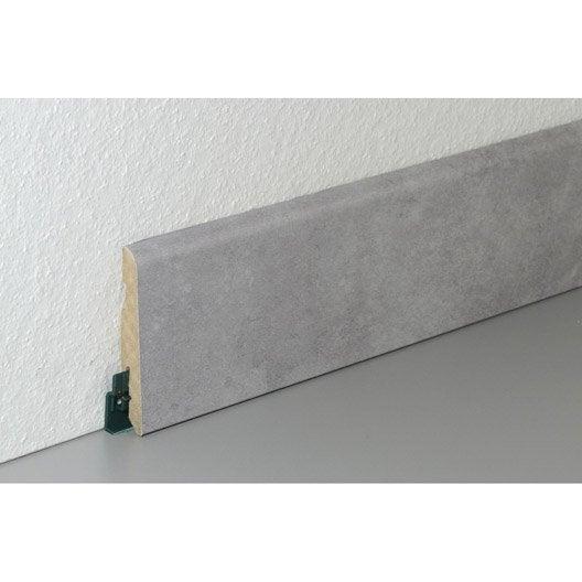 plinthe sol stratifi d cor n 210 cm x x mm leroy merlin. Black Bedroom Furniture Sets. Home Design Ideas