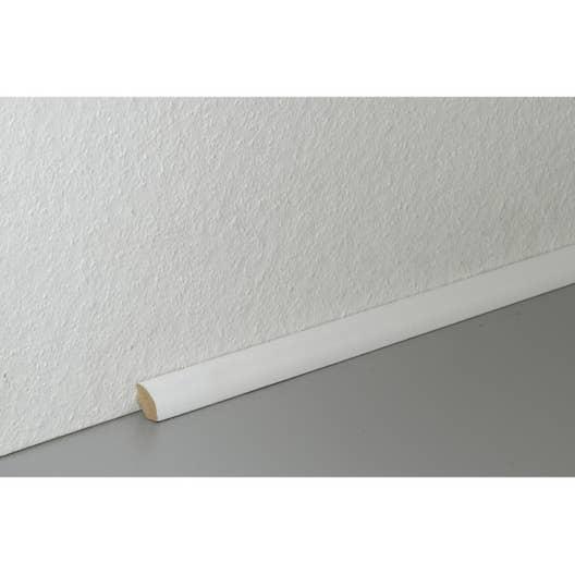 quart de rond sol stratifi d cor blanc cm x x mm leroy merlin. Black Bedroom Furniture Sets. Home Design Ideas