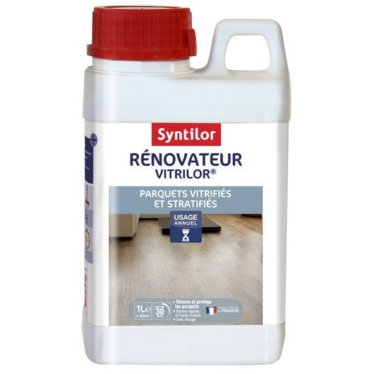 R novateur parquet stratifi et vitrifi syntilor 1 l - Nettoyage parquet stratifie ...