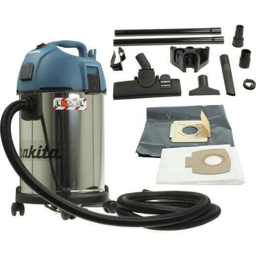aspirateur eau et poussières makita vc3511l, 18 kpa , 35 l | leroy