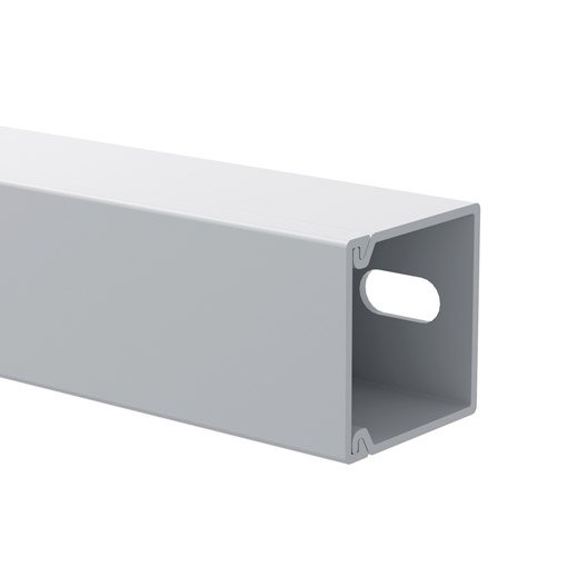 cache c ble blanc pour moulure h 1 5 x p 1 5 cm leroy merlin. Black Bedroom Furniture Sets. Home Design Ideas