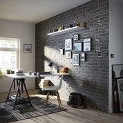 Plaquette de parement béton anthracite Atelier