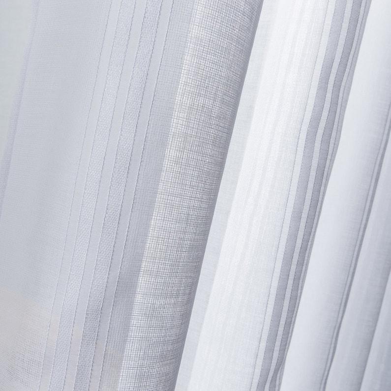 Voilage Tamisant Diamant Blanc L150 X H240 Cm