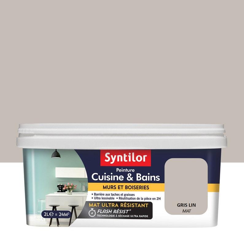 Peinture Syntilor Gris Lin 2 L