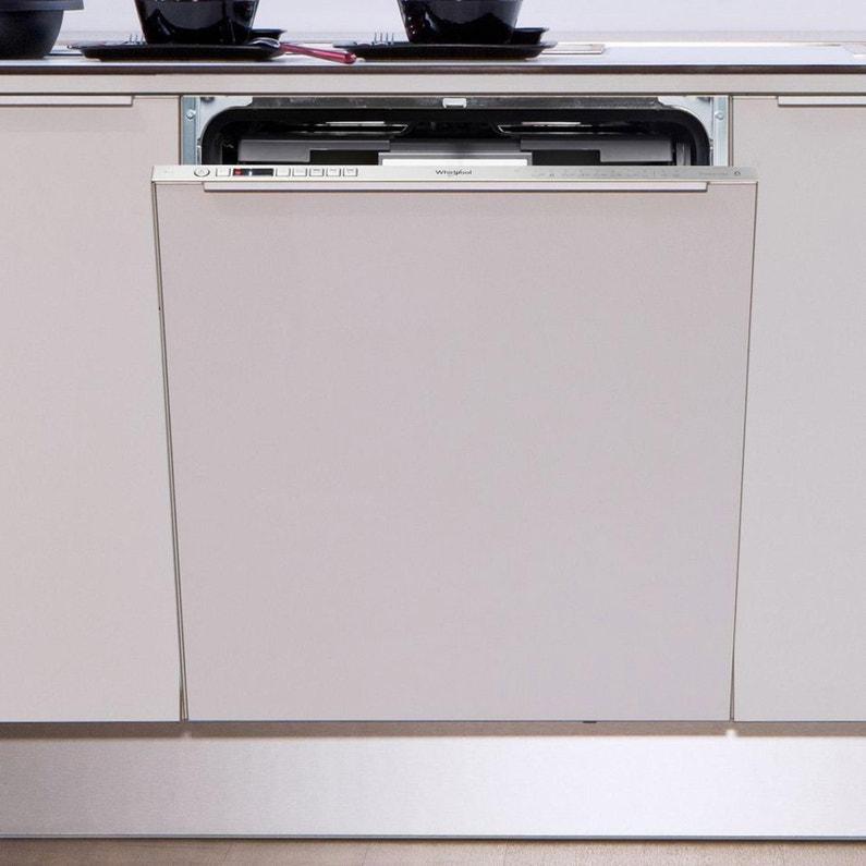 Lave Vaisselle Encastrable L594 Cm Whirlpool Wio3t123pef 14 Couverts