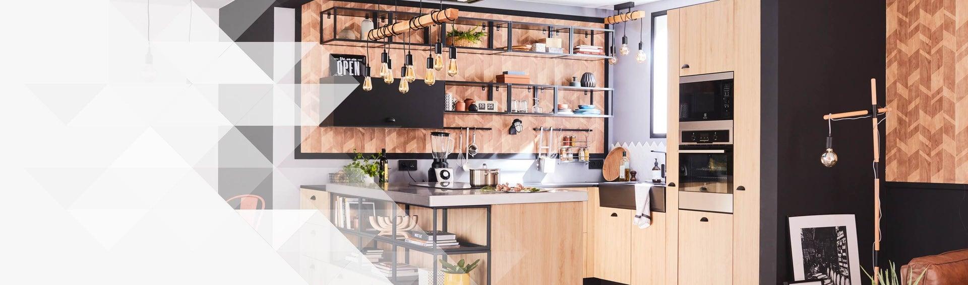 Cuisine équipée, aménagement cuisine et kitchenette | Leroy ...