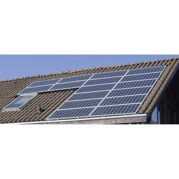 toiture solaire photovolta que au meilleur prix leroy merlin. Black Bedroom Furniture Sets. Home Design Ideas
