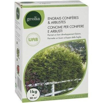 Engrais naturel conifères GEOLIA 1kg 17 m²