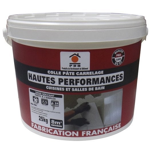 Colle en p te haute performance pour carrelage mur et sol for Colle epoxy carrelage