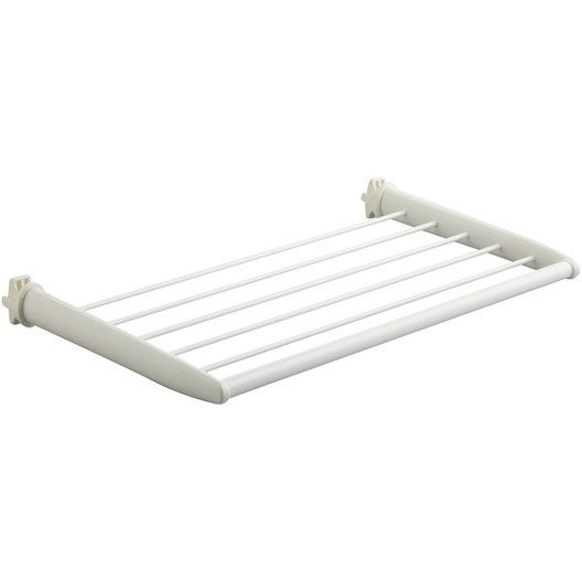 barre porte-serviettes blanc | leroy merlin