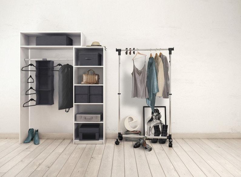 une penderie sur mesure pour ranger vos v tements leroy. Black Bedroom Furniture Sets. Home Design Ideas