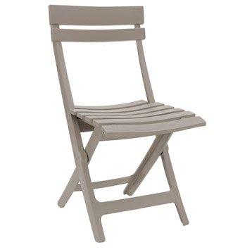 Chaise de jardin en résine Miami lin