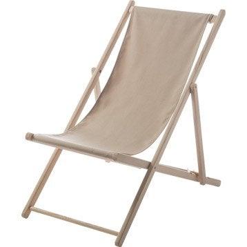 Bain de soleil transat hamac chaise longue au meilleur prix leroy merlin - Chilienne leroy merlin ...