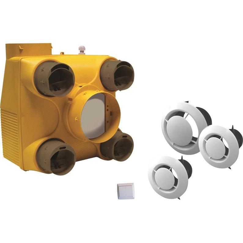 Kit Vmc Simple Flux Autoréglable Equation 2 Leroy Merlin