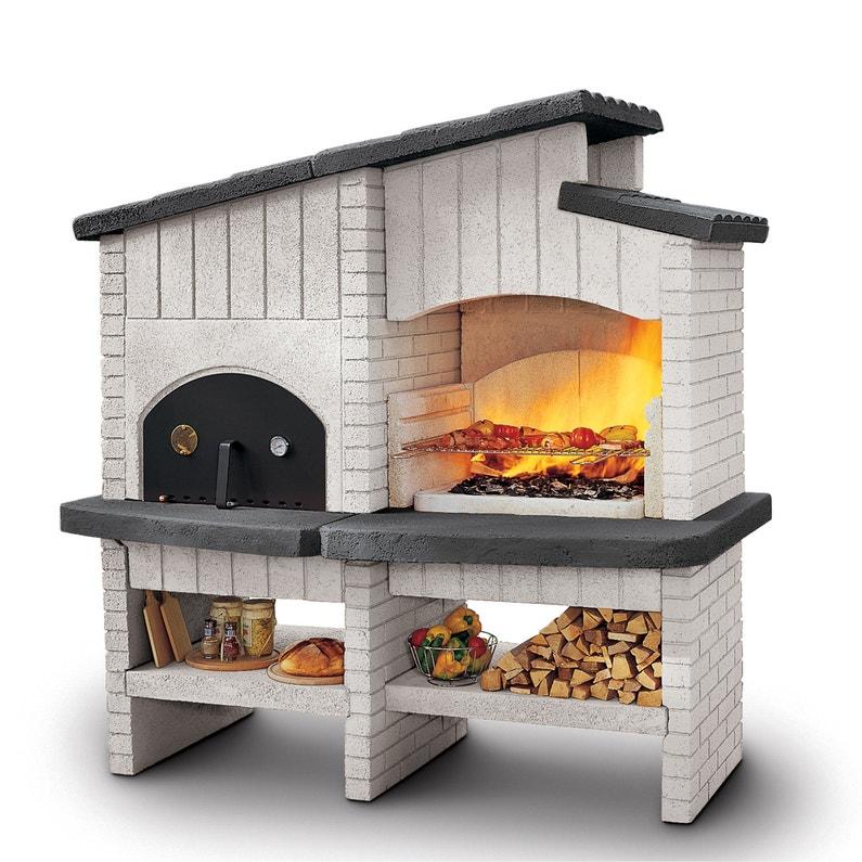 Barbecue Palazzetti In Giardino Combine Barbecue Et Four Contemporain Beton New