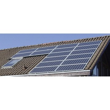 Kit solaire photovoltaïque surimposé toiture WATT&HOME 4900W