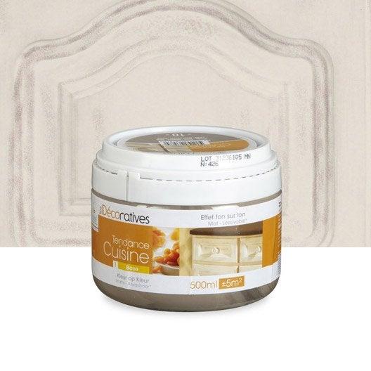 Peinture tendance cuisine les decoratives beige ficelle for Peinture meuble cuisine v avis