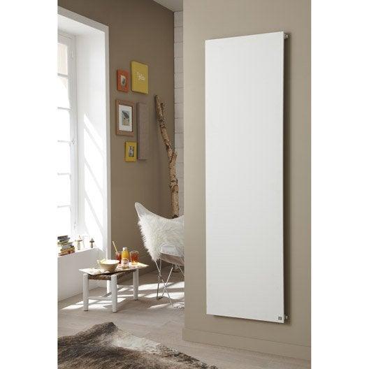 radiateur chauffage central plate blanc mat cm 1170 w leroy merlin. Black Bedroom Furniture Sets. Home Design Ideas