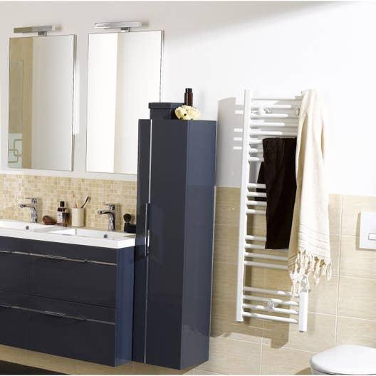 s che serviettes eau chaude acier deltacalor recto d blanc 598 w leroy merlin. Black Bedroom Furniture Sets. Home Design Ideas