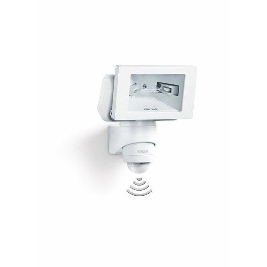 projecteur à fixer à détection extérieur, 78 mm 150 w = 2450 lm