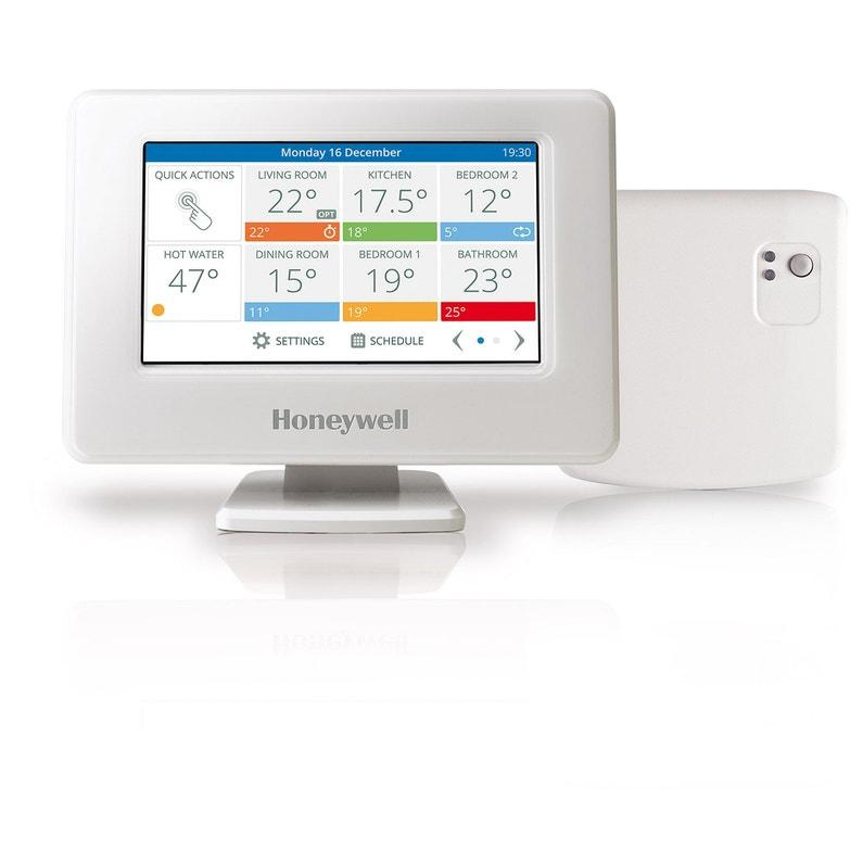 Thermostat Connecté Et Intelligent Filaire Ou Sans Fil Honeywell Evohome