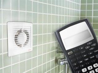Calculer le débit d'air d'un aérateur