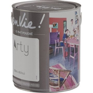 Peinture blanc ébloui LUXENS Envie collection arty 2.5 l