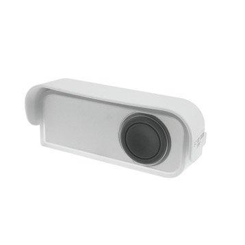 Bouton de sonnette sans fil à LED EVOLOGY, blanc