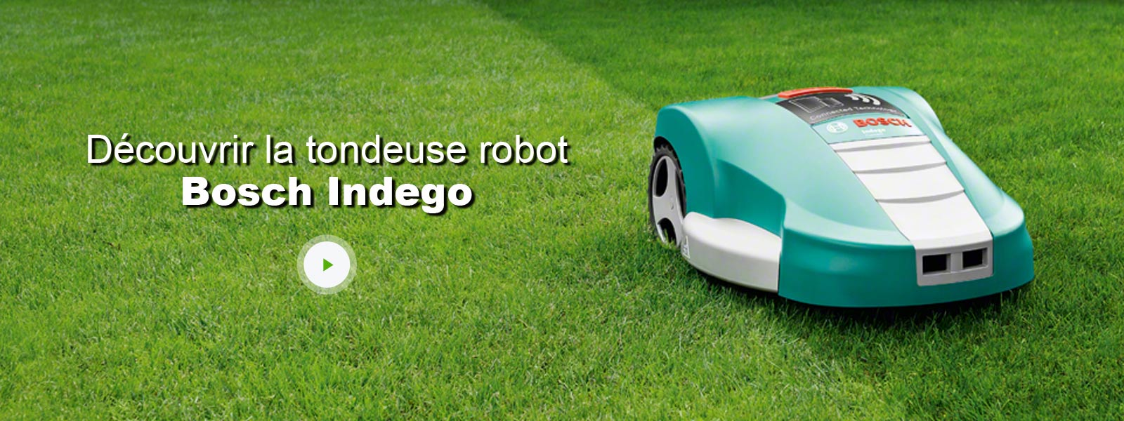 tondeuse robot bosch indego 1200 connect 1200 m leroy. Black Bedroom Furniture Sets. Home Design Ideas