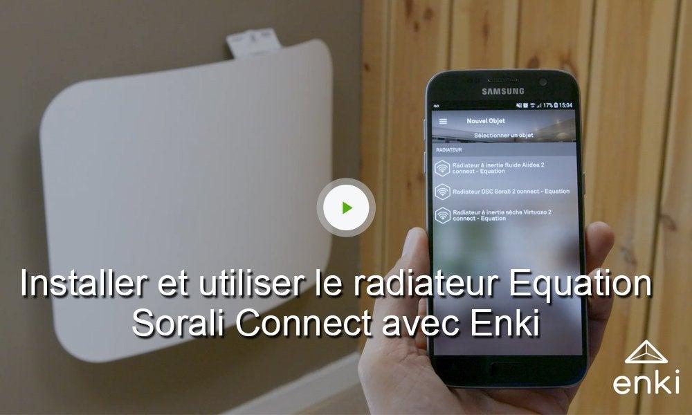 Kit Radiateur électrique Connecté Sorali Avec Box Enki Et