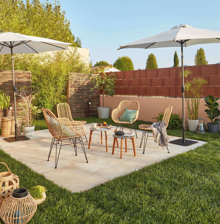 Un salon de jardin vintage et stylé | Leroy Merlin