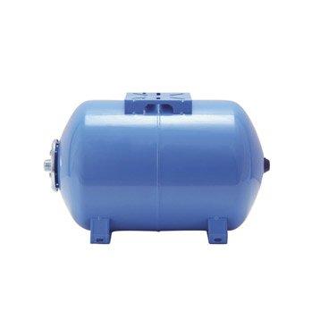 Réservoir horizontal 50 L + membrane FLOTEC mâle 25 mm