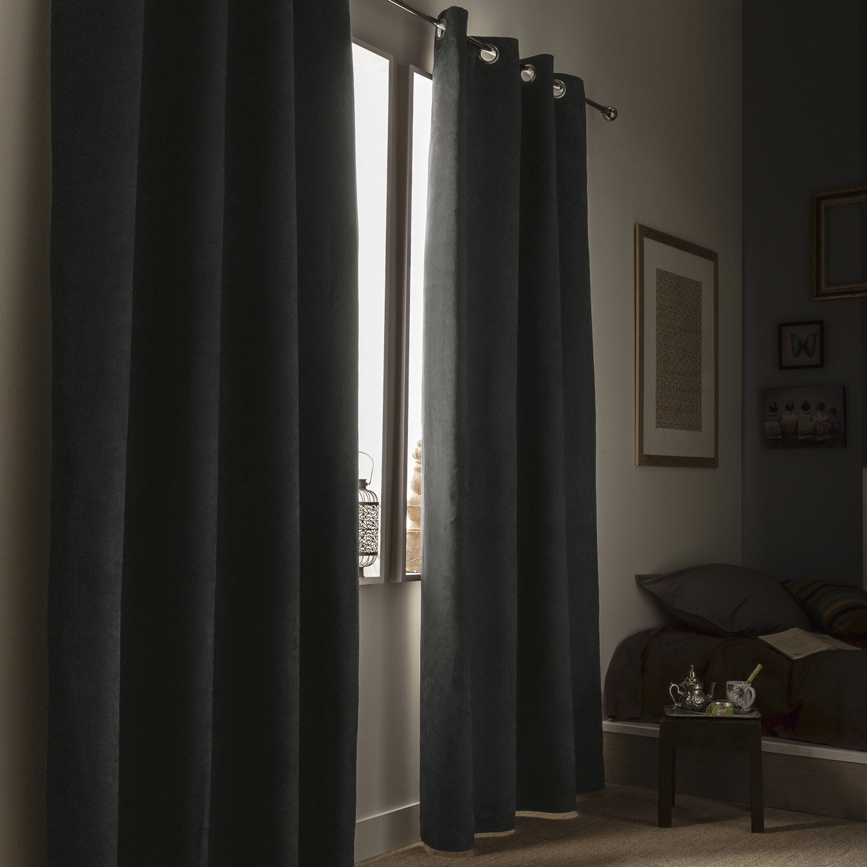 Cheap rideau occultant thermique et phonique leeds gris l x h with rideau isolant thermique - Rideau isolant thermique et phonique ...