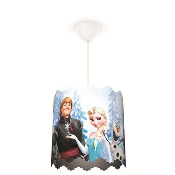Suspension, e27 style Enfant Reine des neiges synthétique multicolore 1 x 60 W P