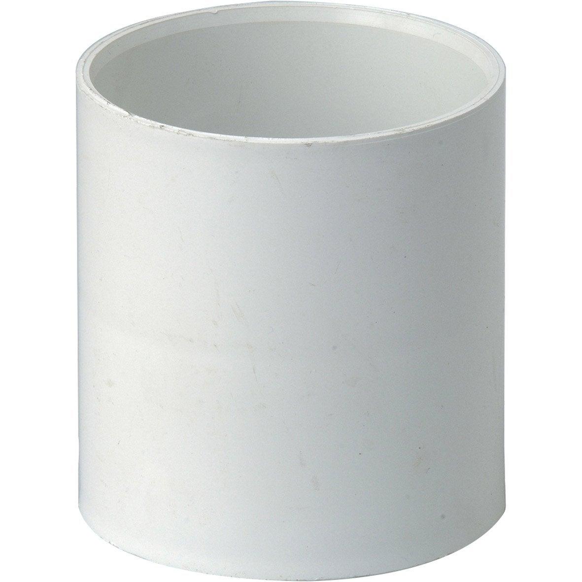 manchon coller pvc blanc girpi d cm mm. Black Bedroom Furniture Sets. Home Design Ideas