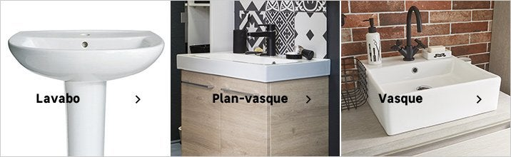 Vasue, plan-vasque, lavabo - bandeau multizone