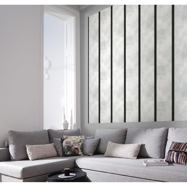 papier peint intiss verri re blanc leroy merlin. Black Bedroom Furniture Sets. Home Design Ideas