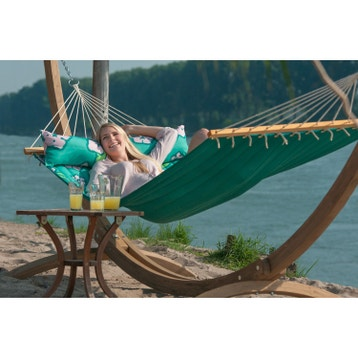 hamac sur pied ou suspendu balancelle de jardin au. Black Bedroom Furniture Sets. Home Design Ideas
