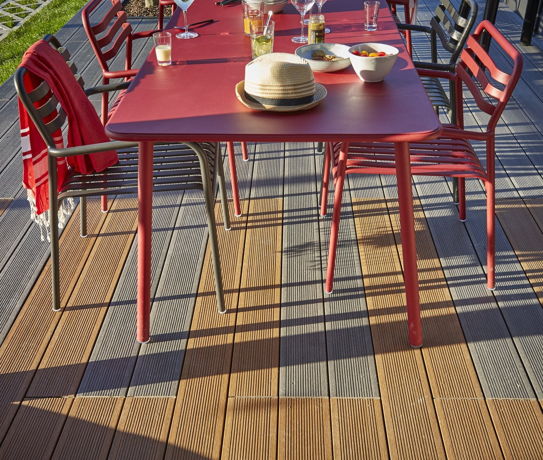 leroy merlin poitiers table de jardin