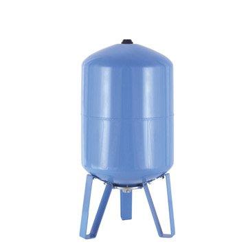 Réservoir vertical 50 L + membrane FLOTEC mâle 25 mm
